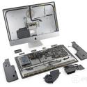 Generell ist der neue iMac besser zu reparieren als sein direkter Vorgänger.