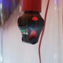 Eine spezielle Glühbirnenhalterung verwandelt die 360 cam in eine Überwachungskamera.