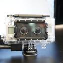 Ein spezielles GoPro-Gehäuse für zwei Kameras erlaubt es, 3D-Aufnahmen anzufertigen.