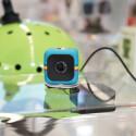 Ein ungewöhnlicher Vertreter der Gattung Actioncam ist der winzige (35 x 35 Millimeter) Cube von Polaroid.