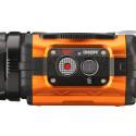 Die WG-M1 besitzt wie die meisten Actioncams nur wenige Bedienelemente. Daher ist die Steuerung über ein Smartphone oder Tablet die komfortablere Lösung. Für die Verbindung zwischen den Geräten besitzt die Ricoh WLAN.