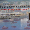 Das FE 24-240mm F3.5-6.3 OSS bietet einen 10-fach optischen Zoomfaktor.