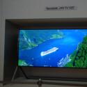 Dieser Bendable TV ist noch ein Prototyp.