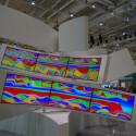 Größer, flacher, gebogener: Auf der IFA präsentieren Hersteller die Fernseher der Zukunft.