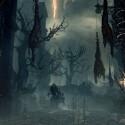 Die Szenerie in Bloodborne wirkt trostlos und unwirtlich.