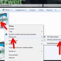 """Navigieren Sie im Windows Explorer zu der heruntergeladenen ISO-Datei. Klicken Sie das Image mit der rechten Maustaste an und wählen Sie im Kontextmenü """"Öffnen mit"""" → """"Windows-Brenner für Datenträgerabbilder"""". (Bild: Screenshot/Windows)"""