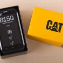 Das Cat B15Q bietet nicht nur einen Schutz vor Staub und Wasser (IP67), sondern trotzt auch extremen Temperaturen. (Bild: netzwelt)