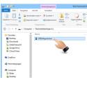 """Öffnen Sie in Ihrem Datei-Browser den USB-Stick. Mit einem Doppelklick auf """"USBSafeguard.exe"""" starten Sie das Programm."""