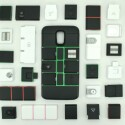 Anpassbare Smartphone-Hülle: Module in Hülle und Fülle.