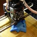 Die Druckplattform des Da Vinci 1.1 Plus gleicht der älterer Modelle.