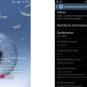 Die Benutzeroberfläche ist Samsungs TouchWiz.