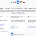 """""""Mein Konto"""" fasst alle relevanten Google-Konto-Einstellungen zusammen."""