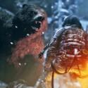 Bärenstark in Rise of the Tomb Raider? Lara Croft muss sich erneut behaupten. (Bild: allgamesbeta.com)