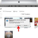 """Bestätige die Sicherheitsabfrage mit einem Klick auf """"Ausblenden"""". Das war's. Das Album wird in iTunes nicht mehr angezeigt."""