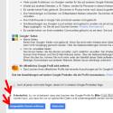 """Du landest auf der Downgrade-Webseite von Google+. Gehe bis ans Ende und setze das Häkchen vor """"Erforderlich"""". Die Löschung bestätigst du, indem du auf """"Ausgewählte Dienste entfernen"""" klickst."""