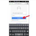 Es öffnet sich eine Webseite. Solltest du dort mit dem falschen Profil angemeldet sein, musst du dich zunächst abmelden und mit dem Konto wieder anmelden, in dem du das Google Plus-Profil löschen willst.