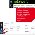 Öffne die Entwickler-Tools im Internet-Explorer, indem du auf F12 drückst. Scrolle mit dem kleinen Dreieck links unten ganz nach unten. Klicke dann auf das Icon mit dem Monitor. (Bild: Screenshot)