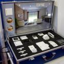 Für Tests bietet HomeMatic Produkte im Smart Home-Koffer.