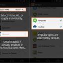 Mit dem Update der Pebble-Android-App wählen Nutzer die Apps, von denen sie Nachrichten empfangen möchten.