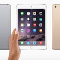 Das neue iPad mini 3 gibt es auch in Gold. (Bild: Apple)