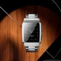Die eckige Vector-Smartwatch wird Meridian bezeichnet.