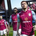 Mit breiter Brust: Die Spieler von Aston Villa in FIFA 15.