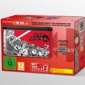 Release am 2. Oktober: Super Smash Bros. gibt's im Bundle mit einem roten 3DS XL.
