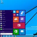 """Das neue Startmenü von Windows 9 alias """"Threshold"""". (Quelle: ComputerBase)"""