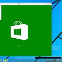 Kachel-Apps lassen sich auch auf dem Desktop ausführen. (Quelle: ComputerBase)