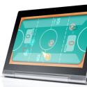 Das Yoga Tablet 2 lässt sich auch aufhängen. (Bild: Screenshot Lenovo)
