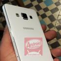 Noch sind weder ein Galaxy A5, noch ein A3 offiziell angekündigt. (Bild: Screenshot Android México Twitter)
