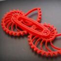 So kann ein Modell aus einem 3D-Drucker aussehen.