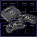 Eine Videospielkonsole im Miniformat: Segas Mega-Drive mit 60 Spielen für 45 Britische Pfund, umgerechnet 57 Euro. (Bild: menkind.co.uk)