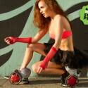 Gefällt auch Frauen. Mit diesen Schuhen düst ihr über den Asphalt, zahlt aber auch umgerechnet 360 Euro für die Rocketskates. Damit könnt ihr dann aber auch den Cooles Cooler anschieben.
