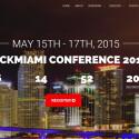 """Auf der """"Hack Miami"""" demonstriert Seth Wahle seinen Biohack."""