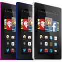 Das neue Amazon Fire HD-Tablet erscheint in fünf Farben.
