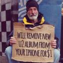 Vor dem iPhone 6-Release: Apple hat bereits eine Seite eingerichtet, über die iOS-Nutzer das automatisch geladene U2-Album wieder entfernen können. (Bild: Screenshot Ernesto Machado Twitter )