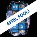 Und noch ein Scherz von Nokia. Die Firma schickte seine Fans mit dem Nokia Ice in den April. Einem Smartphone aus einem Eisblock, welches sich im Kühlschrank aufladen lässt
