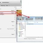 """Abschließend wechselt ihr wieder in die iTunes-Mediathek. Klickt im Menü auf """"Datei"""" (beim Mac auf """"Ablage"""") und wählt im Kontextmenü """"Datei zur Mediathek hinzufügen …"""" aus. Dann wählt ihr den gekürzten Song auf dem PC aus und bestätigt mit """"Öffnen"""". Um zu überprüfen, ob der Import funktioniert hat, klickt ihr in iTunes neben """"Musik"""", """"Filme"""" und """"TV-Sendungen"""" auf die drei Punkte und wählt """"Töne"""" aus. Dort müsste sich der importierte Titel befinden."""