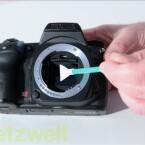 Kamera-Swaps müssen auf die Sensorgröße passen.