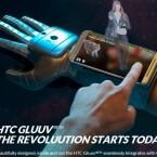 HTCs Scifi-Handschuh Gluuv ermöglicht Holo-Telefonate. Auch HTC arbeitet an einem vernetzten Handschuh. Dieser wirkt aber deutlich futuristischer als die Samsung Fingers.