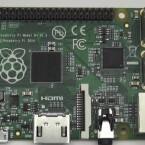 Neu beim Raspberry Pi B+: Vier USB-Ports, ein microSD-Slot und 40 Allzweckeingabe/-ausgabe-Pins.