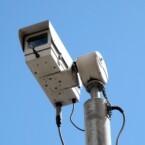 Überwachungskameras gehören in Großbritannien zum Straßenbild.