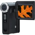 Auch dieses als HD-Camcorder beworbene Gerät besitzt nur einen CMOS-Bildsensor, schafft damit aber immerhin bis zu 1.280 x 720 Pixel im Videomodus.