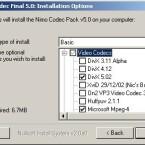Ungeschickt: wenn man will, kann man gleich alle drei Versionen von einem Codec installieren