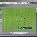 Was aussieht wie FIFA 1602, ist das neue Match Analyse-Tool (MAT). Es erlaubt u.a. die detaillierte 2D-Analyse eines bestrittenen Spiels