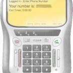 Gespräch in Handy-Qualität