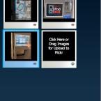 Danach können die eigenen Schnappschüsse ganz einfach per Drag & Drop in die Fotofox-Seitenleiste eingefügt werden. Dort lassen sich Titel, Tags und die Datenschutzeinstellungen jedes Fotos eingeben.