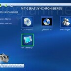 Die Media Center Edition bietet auch verschiedene Unterprogramme wie DVD-Brennsoftware
