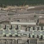 Wien über Google Earth, Virtual Earth zeigt keine Nahaufnahmen der österreichischen Stadt